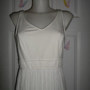 Lauren Conrad Long White Dress